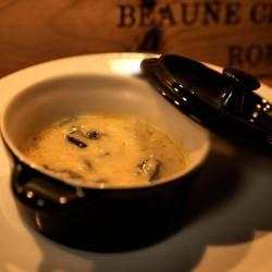 Escargots petits gris à la crème d'ail